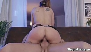 Kiara Strong rides on Nacho Vidal's big dick